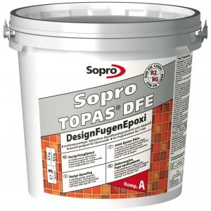 Sopro Topas DFE – Декоративная эпоксидная затирка, для швов от 1 до 7 мм, 3 кг.