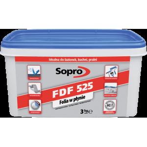 Sopro FDF 525 – Высоко эластичная гидроизоляционная мастика для внутренних работ, 3-20 кг.