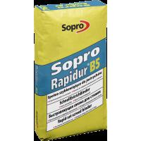 Sopro Rapidur B5 – Специальное вяжущее средства для производства быстротвердеющих стяжек, 25 кг.